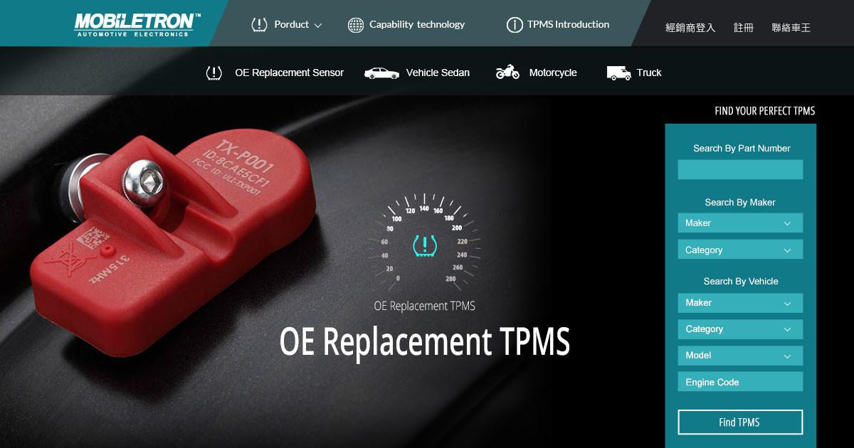 Mobiletron TPMS